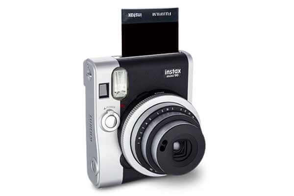 Profuct photo of the Fuji Mini 90 camera.