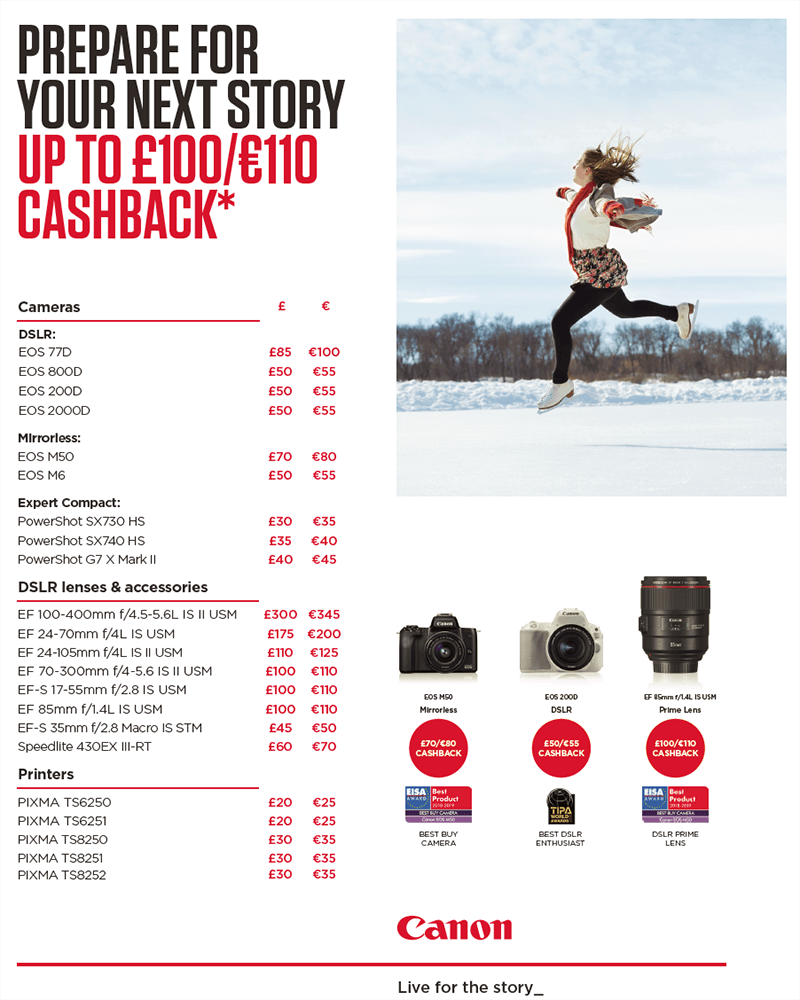 Winter Cashback 2018