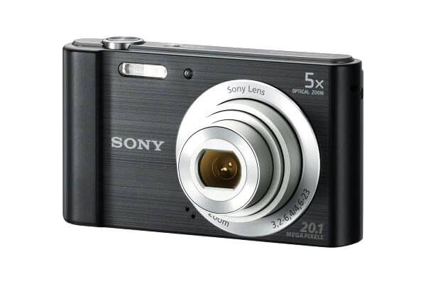 Sony Cybershot W 800 Black