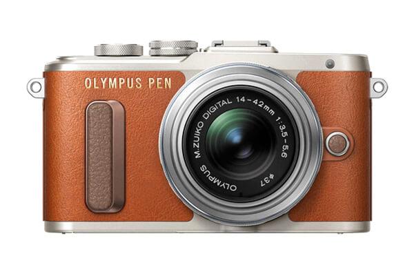 Olympus PEN E-PL8 Mirrorless (Tan)