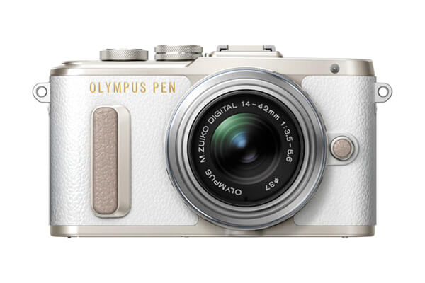 Olympus PEN E-PL8 Mirrorless (White)