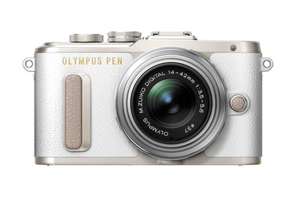 Olympus PEN E-PL8 Mirrorless (White)