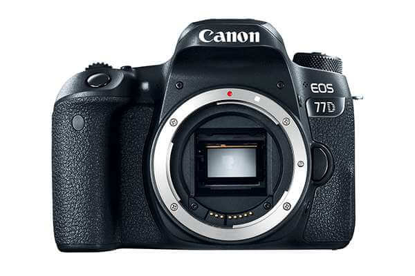 Canon EOS 77D with 18-55 IS Lens
