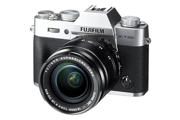 Fujifilm X-T20 Mirrorless 16-50mm Lens (Silver)