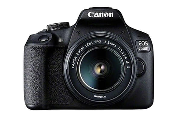 Canon EOS 2000D with 18-55IS Lens