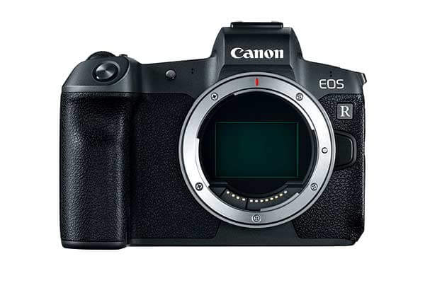 Canon EOS R Mirrorless DSLR Body & Mount Adaptor