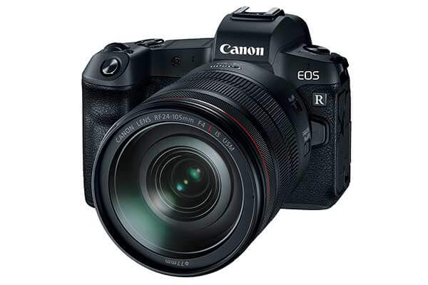 Canon EOS R Mirrorless DSLR with 24-105mm F4L IS USM