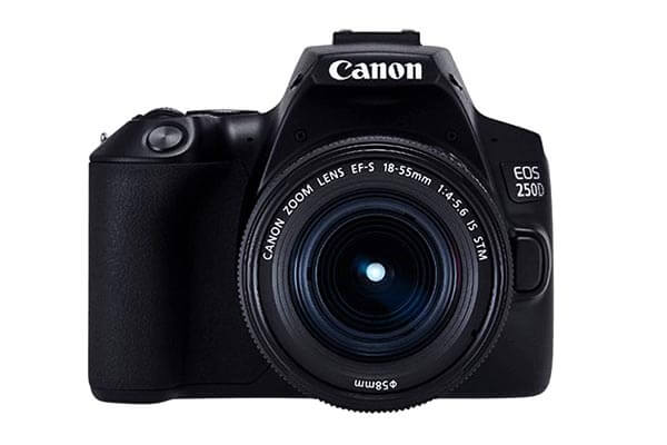 Canon 250D with 18-55 IS STM Lens