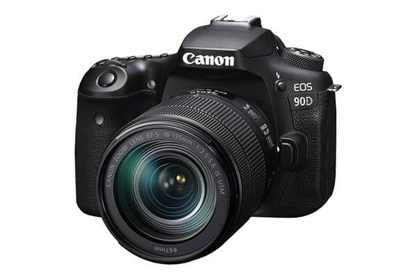 Canon EOS 90D DSLR Camera & 18-135mm Lens