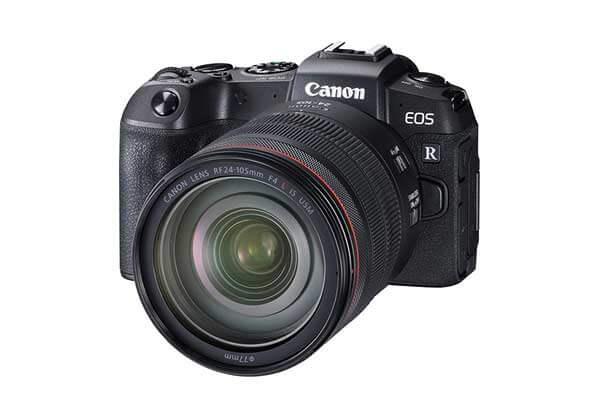 Canon EOS RP Mirrorless DSLR & 24-105mm Lens