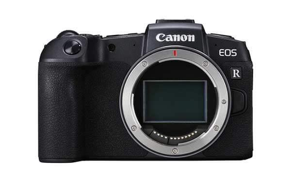 Canon EOS RP Mirrorless DSLR Body & Mount Adaptor