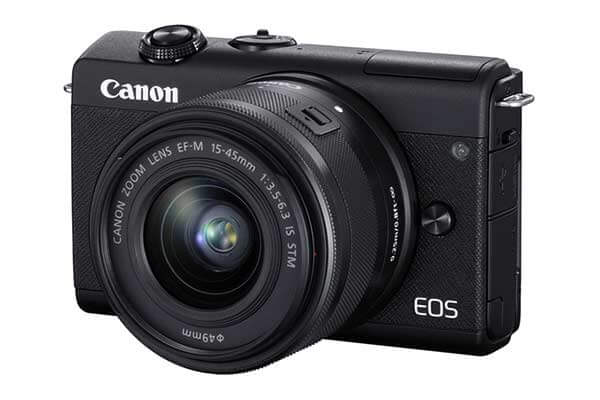 Canon M200 with 15-45 IS STM (Black)
