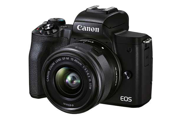 Canon EOS M50 Mark II (Black) & 15-45mm Lens