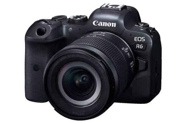 Canon EOS R6 Mirrorless 24-105mm f/4-7.1 Lens
