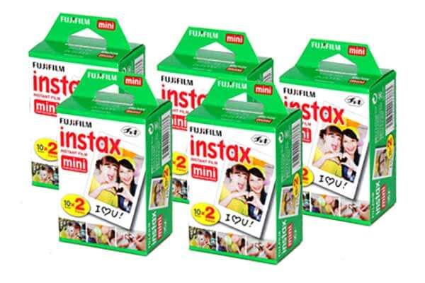 Fujifilm Instax Mini 5 Pack Film
